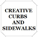 Creative Curbs and Sidewalks.