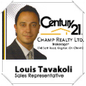 Century21 Champ Realty Ltd. Louis Tavakoli